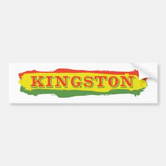 Kingston Stripes Bumper Sticker