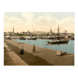 Kingstown Harbour I Postcard