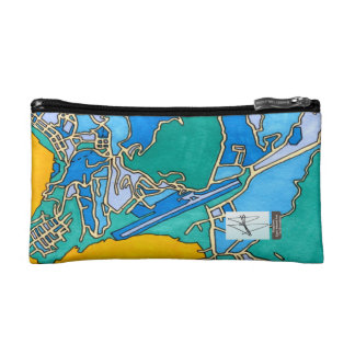 Kingstown, Saint Vincent And The Grenadines Cosmetic Bag