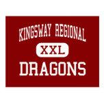 Kingsway Regional - Dragons - High - Swedesboro Post Card