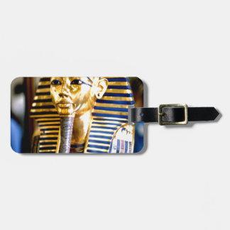 KingTutankamun Egipto Etiquetas De Maletas