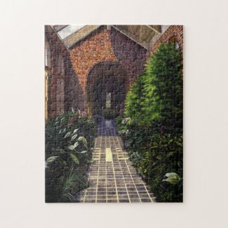 Kingwood Greenhouse Jigsaw Puzzle