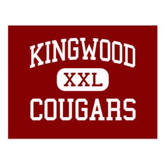 Kingwood - pumas - centro - Kingwood Tejas Postales