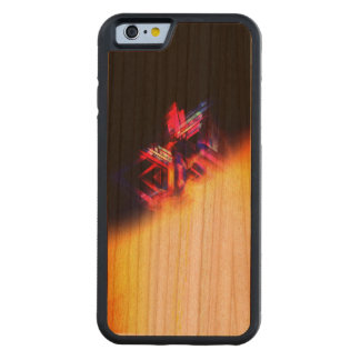 KingZ edition iPhone 6/6s Bumper Cherry Wood Case