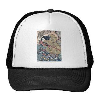 Kinhyoshi hero of Suikoden by Utagawa,Kuniyoshi Trucker Hat