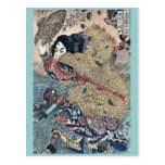 Kinhyoshi hero of Suikoden by Utagawa,Kuniyoshi Postcard