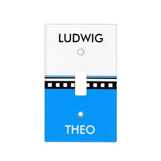 Kini Ludwig oder der Theo Light Switch Cover