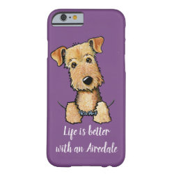 Case-Mate Barely There iPhone 6 Case with Airedale Terrier Phone Cases design