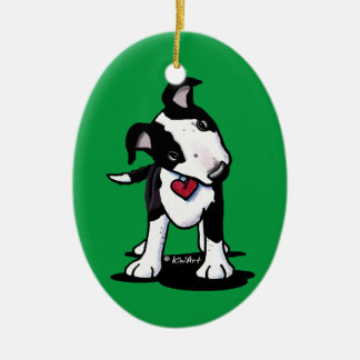 KiniArt Australian Cattle Dog Ceramic Ornament