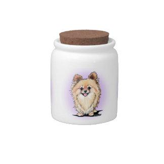 KiniArt Bella Pom Candy Jar