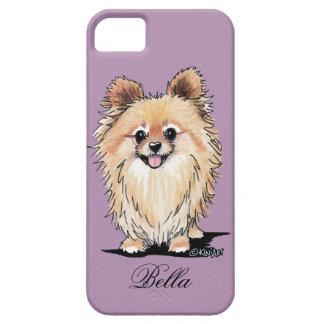 KiniArt Bella Pom Funda Para iPhone 5 Barely There
