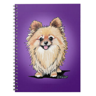 KiniArt Bella Pom Notebook