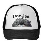 KiniArt Black Doodle Trucker Hat