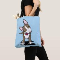 KiniArt Brindle Bull Terrier Tote Bag