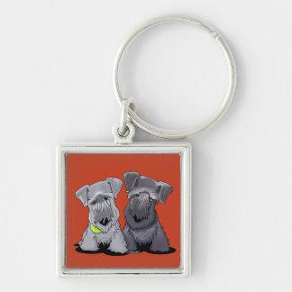 KiniArt Cesky Terriers Keychain