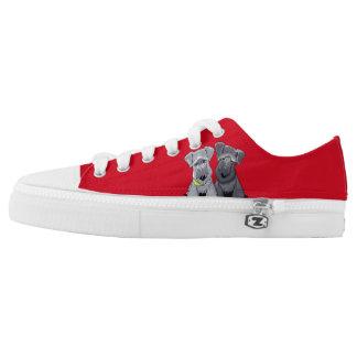 KiniArt Cesky Terriers Printed Shoes