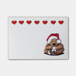 KiniArt Christmas Bear Post-it® Notes