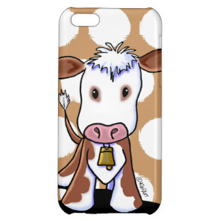 KiniArt Cow Cover For iPhone 5C
