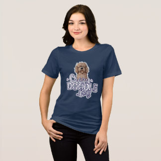 KiniArt Crazy Doodle Lady T-Shirt