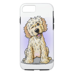 Case-Mate Barely There iPhone 7 Case with Labradoodle Phone Cases design