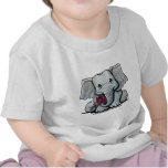 KiniArt Elephant Infant T-Shirt