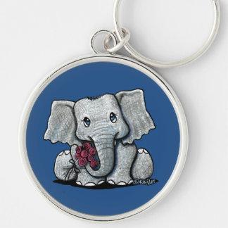 KiniArt Elephant Keychain