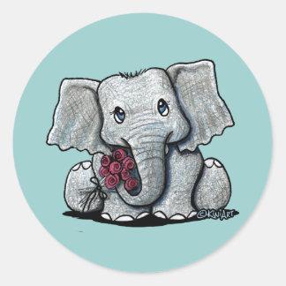 KiniArt Elephant Sticker
