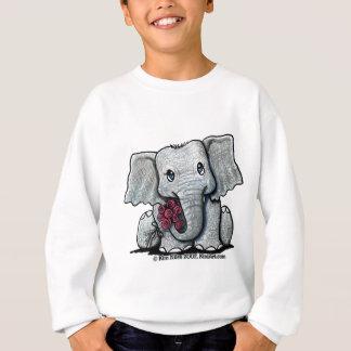 KiniArt Elephant Youth Sweatshirt