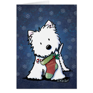 Westie Christmas Cards - Invitations, Greeting & Photo Cards | Zazzle