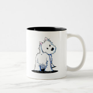 KiniArt Fluffy Butt Westie Mug