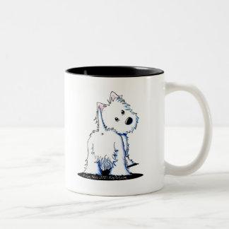 KiniArt Fluffy Butt Westie Mug