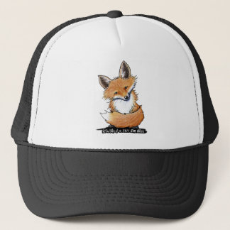 KiniArt Fox Trucker Hat