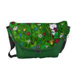 KiniArt Garden Westies Messenger Bag
