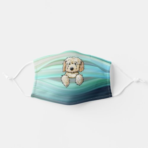 KiniArt Goldendoodle Puppy Cloth Face Mask