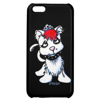 KiniArt Goth Kitten Cover For iPhone 5C