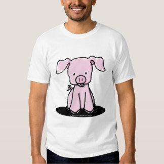KiniArt Piglet Kids Organic Essent T Shirt