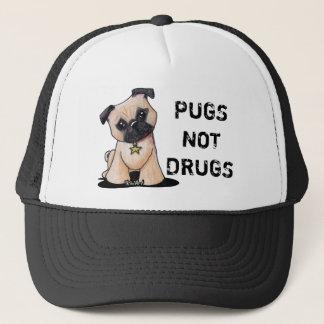 KiniArt Pug Trucker Hat