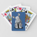 KiniArt Rhino Bicycle Playing Cards