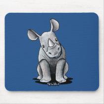 KiniArt Rhino Mouse Pad