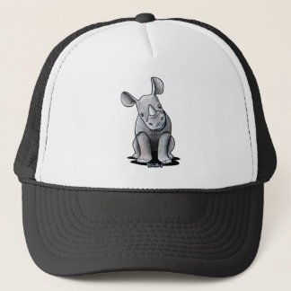 KiniArt Rhino Trucker Hat