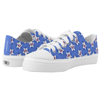 KiniArt Westie Allstars Low-Top Sneakers