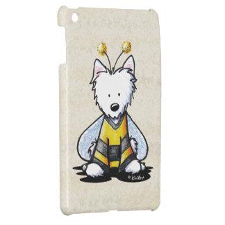 KiniArt Westie BEE Lighthearted iPad Mini Cases