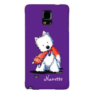 KiniArt Westie Fox Lover Galaxy Note 4 Case