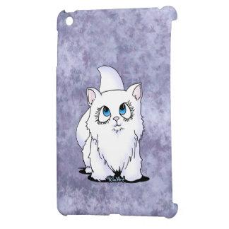KiniArt White Cutieface Kitten iPad Mini Cases