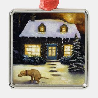 Kinkade's Worst Nightmare Christmas Tree Ornaments