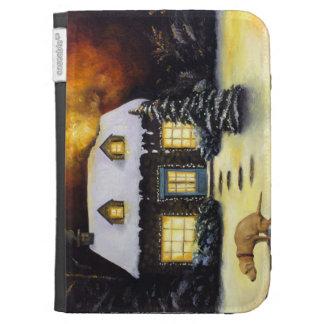 Kinkade's Worst Nightmare Kindle Cases