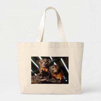 Kinkajous Jumbo Tote Bag