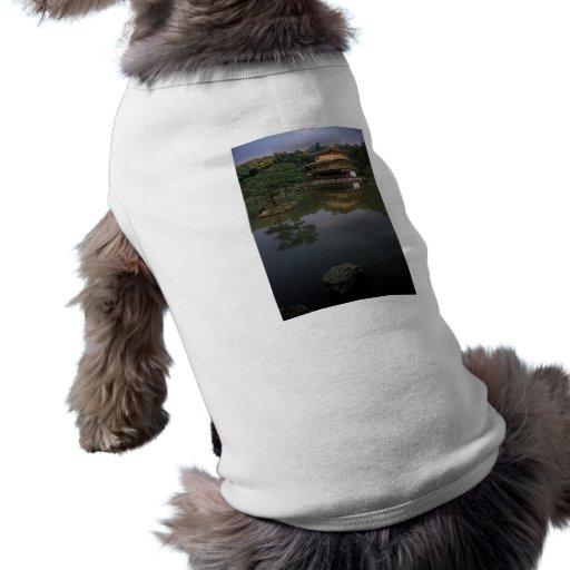Kinkaku-ji Buddhist Temple Doggie Shirt