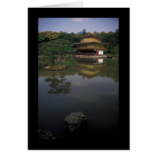 Kinkaku-ji Buddhist Temple Greeting Cards