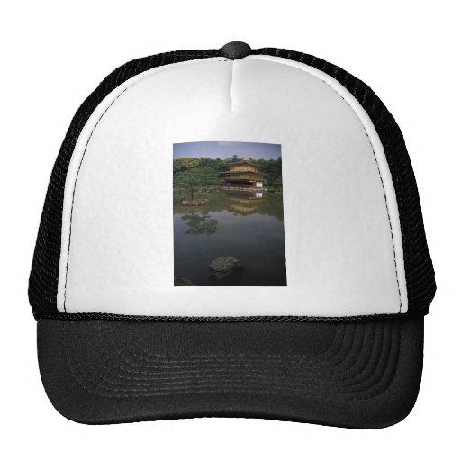 Kinkaku-ji Buddhist Temple Mesh Hats